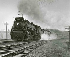 CN 4-8-4 at Hamilton Junction   Classic Trains Magazine