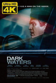 Directed by Todd Haynes. With Mark Ruffalo, Anne Hathaway, Tim Robbins, Bill Pullman. A corporate defense attorney takes on an environmental lawsuit against a chemical company that exposes a lengthy history of pollution. Mark Ruffalo, Anne Hathaway, Streaming Hd, Streaming Movies, Green Street Hooligans, News Stars, Water Movie, Films Netflix, Poster
