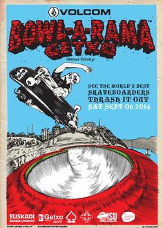 2014 Volcom BOWL-A-RAMA Getxo official teaser
