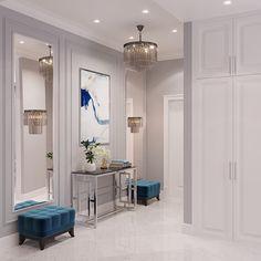 home decor classy THE_K Ulsan, Interior - Modern Classic Interior, Classic Home Decor, Luxury Home Decor, Home Room Design, Living Room Designs, Home Decor Bedroom, Living Room Decor, Entrance Hall Decor, Home Interior