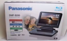 PANASONIC Portable BLU RAY Player DMP-B200  - n i b #Panasonic