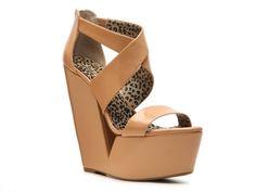 Jessica Simpson Sasa Patent Wedge Sandal