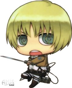 SNK - Armin Arlert - Chibi by Amistrated.deviantart.com on @deviantART