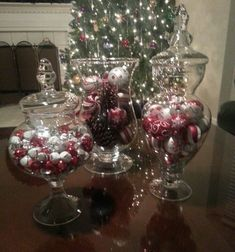 christmas centerpieces for tables with coffee beans | Inspired by Pinterest to create this coffee-table centerpiece :)