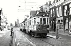 Halte Korevaarstraat,  1960 richting Den Haag.