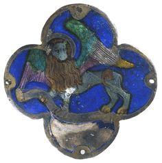 The lion, symbol of Saint Mark the Evangelist St Mark The Evangelist, 15th Century, Metal Working, Beast, Saints, Lion Sculpture, Symbols, Statue, Animals