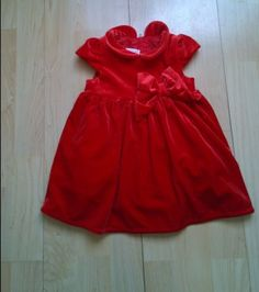 Red baby #dress 4-6 #months,  View more on the LINK: http://www.zeppy.io/product/gb/2/182033806970/