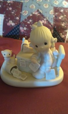 """""""Praise The Lord Anyhow"""" ..Precious Moments figurine by Enesco"""