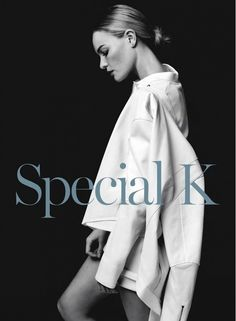Kate Bosworth stuns in this minimal white shot for Marie Claire UK, shot by David Roemer