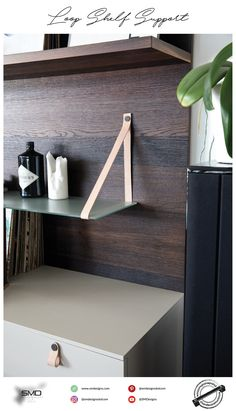 Loop Shelf Support  #handlesandmuchmore by SMD. We help YOU to create the furniture of the future!  #smd #furniture #shelfsupport #handles #knobs #decorative #trendy