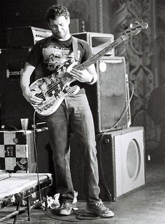 Mike Watt, the man the album Blood Sugar Sex Magik was dedicated to