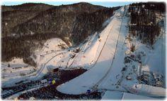 Vikersund ski flying Ski Jumping, Worlds Largest, Mount Everest, The Good Place, Skiing, Mountains, Places, Nature, Ski
