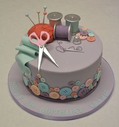 celebration cakes Stitch Birthday Cake Prochef Stitch Lilo And Stitch Birthday Cake Recipes Food. Stitch Birthday Cake Lilo And Stitch Cake Cakecentral. Sewing Cake, Sewing Machine Cake, Fondant Cakes, Cupcake Cakes, Cake Cookies, Knitting Cake, Sweet 16 Cakes, Birthday Cake Girls, Birthday Cake Design