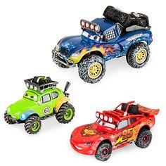 Lightning McQueen Off Road Series Die Cast Set