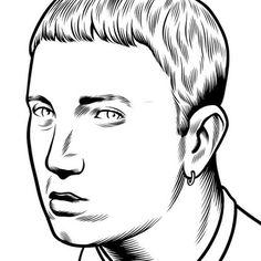 Charles Burns Portrait Illustrations (11)