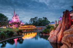 Magic Kingdom - Castle Pink
