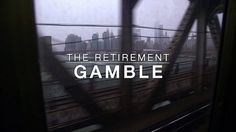 """""""A US-specific hourlong special on how the financial services industry that's grown up around the (private retirement plan) does not serve the individual well:"""" Retirement Planning, Economics, Growing Up, Wellness, Marketing, How To Plan, Finance"""