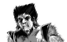 Wolverine before the colors