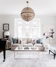 Home Decor Decoracion Living Room Inspiration: Navy Blush and Gold Living Room by Studio McGee.Home Decor Decoracion Living Room Inspiration: Navy Blush and Gold Living Room by Studio McGee Gold Living Room, Apartment Living Room, Living Decor, Living Room Inspiration, Home Decor, Home And Living, Room Inspiration, Apartment Decor, Home Living Room