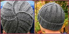 Simple guy knit hat