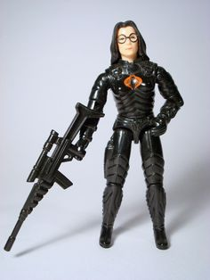 Toy from the 80's. Omg she was my favorite  I didn't have her sniper though.