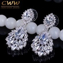 Cheap earrings for, Buy Quality earring for wedding directly from China drop earrings Suppliers: CWWZircons Elegant Chandelier AAA+ Cubic Zirconia Long Big Crystal Bridal Dangle Drop Earring For Wedding Jewelry Cubic Zirconia Earrings, Dangle Earrings, Cheap Earrings, Ruby Earrings, Teardrop Earrings, Wedding Earrings, Wedding Jewelry, Elegant Chandeliers, White Sapphire