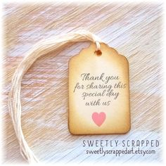 12 THANK YOU For Sharing Our Special Day by SweetlyScrappedArt