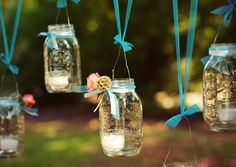 100 Mason Jar Crafts and Ideas for Rustic Weddings