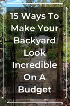 backyard garden These people made their backyards look incredible and heres how you can do the same! Backyard Projects, Outdoor Projects, Backyard Patio, Garden Projects, Backyard Landscaping, Outdoor Ideas, Landscaping Ideas, Diy Projects, Garden Ideas