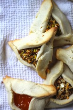BAKLAVA HAMANTASCHEN COOKIES    This Sunday Purim festivals will take place across the country, sending millions of bagged goldfish i...