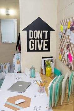 Dorm Takeover: Wall Art - No room is complete without a bunch of awesome wall art to show your personality! Get creative with canvases, your favorite pictures, and of course some incredibly unique wall Decals from @wallsneedlove! They have so many styles, patterns, and colors you're sure to find some that are perfect for you.