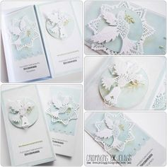 Cardmaking by jolagg: bierzmowanie Baptism Gifts, First Holy Communion, Holi, Cardmaking, Stampin Up, Place Card Holders, Invitations, Cards, Inspiration