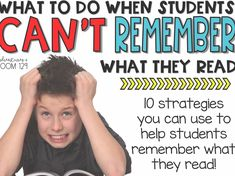 Reading Comprehension Strategies for Struggling ReadersYou can find Reading intervention and more on our website.Reading Comprehension Strategies for Struggling Readers Reading Lessons, Reading Resources, Reading Skills, Reading Tips, Reading Projects, Reading Art, Math Lessons, Sight Words, Anchor Charts