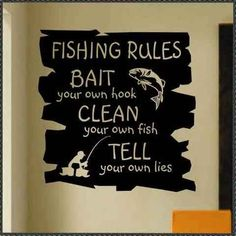Unless I'm along.....then they bait my hook and take off the fish....