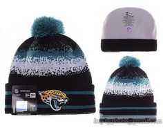 Mens   Womens Jacksonville Jaguars New Era NFL On-Field Team Colors Fashion  Spec Blend Knit Beanie Hat With Pom - Black   Green 961b85d83