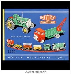 Mettoy Catalogue 1950. Photo in DOCKERILLS - TIN TOY REFERENCE - GREAT BRITAIN - Google Photos