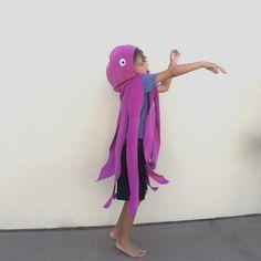 Cape di polpo viola Costume di Halloween o di SevenWhiteRabbits