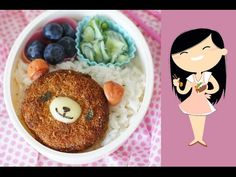 Video tutorial : how to make a cute bento lunchbox ! - YouTube