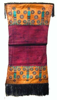 TUAREG LEATHER PILLOW