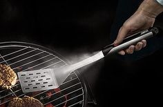 A spatula hiding a flashlight in its handle.   26 Ridiculously Clever Products With A Secret