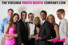 Wedding Reception Photo Booth - Richmond Virginia - The Virginia Photo Booth Company - www.thevirginiaphotoboothcompany.com