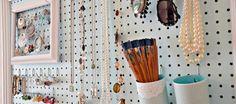 25 ideas para organizar los accesorios