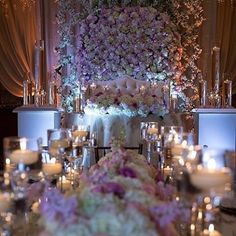 Heavenly! @vonre_events has a magical touch to this Reception.