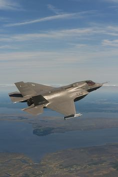 F-35B Test Flight with AIM-9X Sidewinder by Lockheed Martin