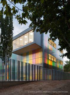 School in Ejea de Los Caballeros Paseo Constitución, Ejea de los Caballeros, Zaragoza, Spain / cruz díez   arquitectos