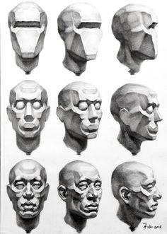 素描 Brown Things brown color id Anatomy Sketches, Art Drawings Sketches, Anatomy Sculpture, Sculpture Art, Arte Com Grey's Anatomy, Human Anatomy Drawing, Drawing Heads, Anatomy For Artists, Art Reference Poses
