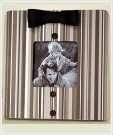 Tuxedo Frame for Dad. Dress up a basic frame for Father's Day #frame #modpodge #fathersday #folkart