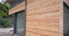 larch cladding - Google Search Cedar Cladding House, Larch Cladding, Garage Doors, Outdoor Decor, Google Search, Home Decor, Decoration Home, Room Decor, Home Interior Design