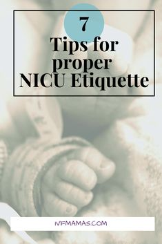 Every hospital and NICU has its own rules but there are some standard rules of etiquette. Some rules are not spoken until you have broken them Preemie Babies, Preemies, Newborn Babies, Newborn Care, Newborns, Premature Baby Development, Sick Baby, Birth Doula, Childbirth Education