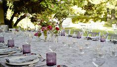 Mesas Imperiales para comer en la Terraza de Deluz. Fotografía María Gorbeña